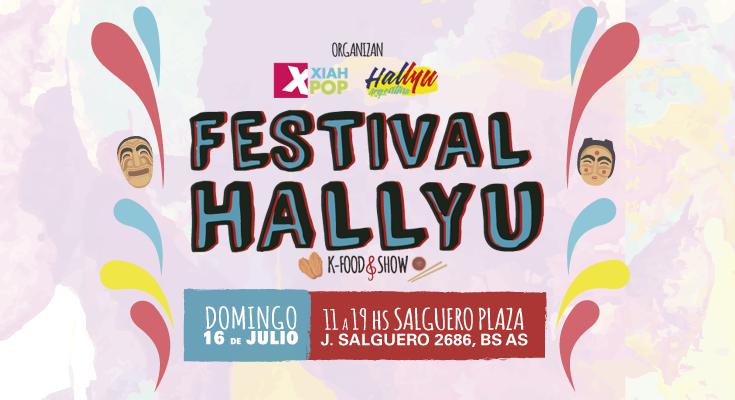 Festival Hallyu: Kfood & Show a través de los medios