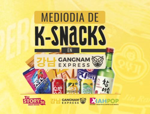[Evento] Mediodía de K-Snacks en Gangnam Express