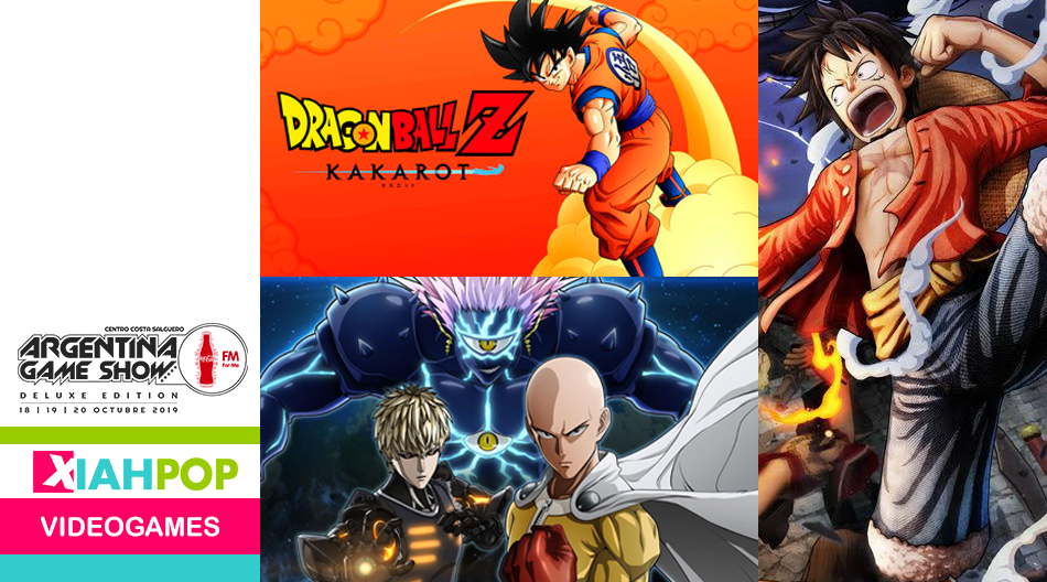 Dragon Ball Z Kakarot en Argentina Game Show