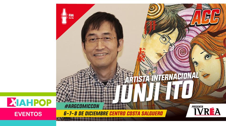 ¡Junji Ito será parte de Argentina Comic Con!