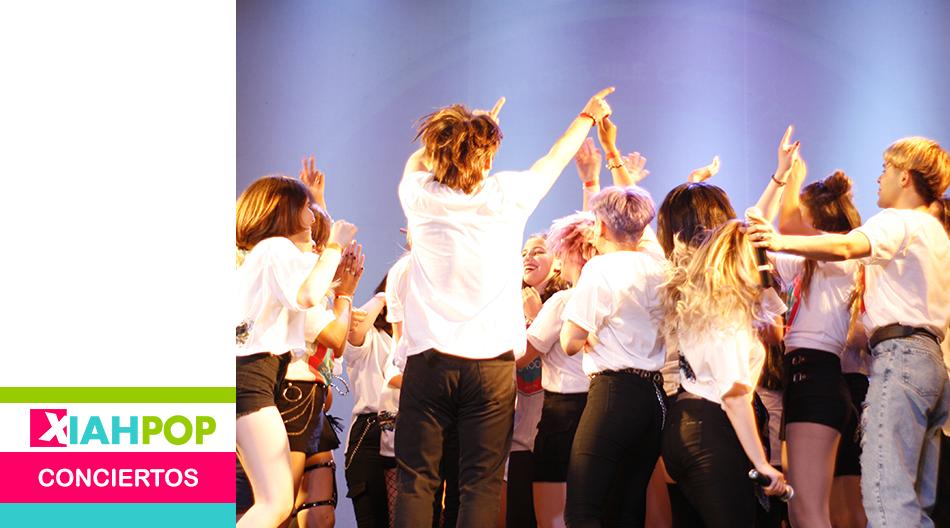 K-pop School brindó un emotivo show en el Teatro Empire