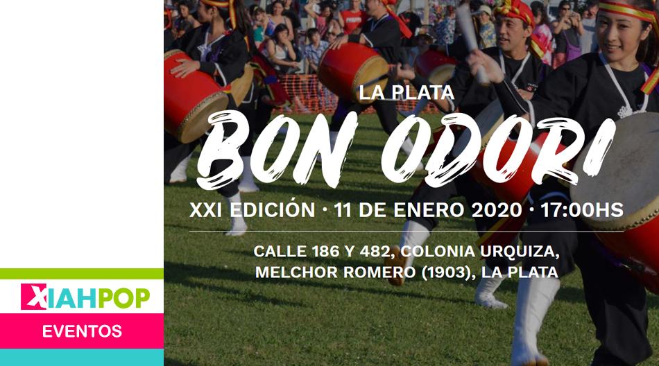 ¡Se viene una nueva edición del Bon Odori La Plata!