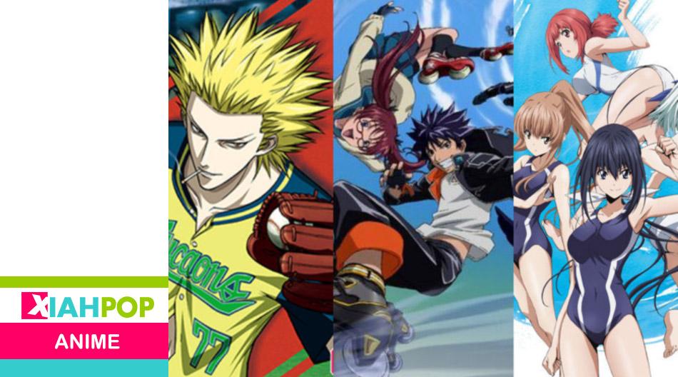 [Anime] Tres series de deportes inventados