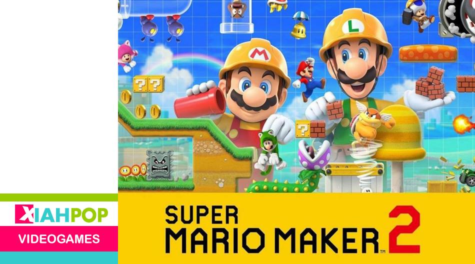 Nintendo ha liberado la actualización definitiva de Mario Maker 2