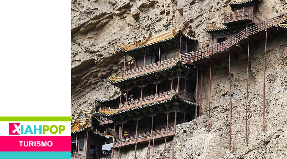 El monasterio chino que flota en el aire