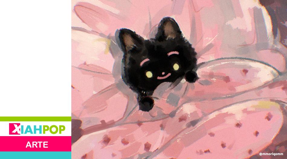 ¡A mimir! Dr.Moricky ilustra gatitos y enternece a los internautas latinos