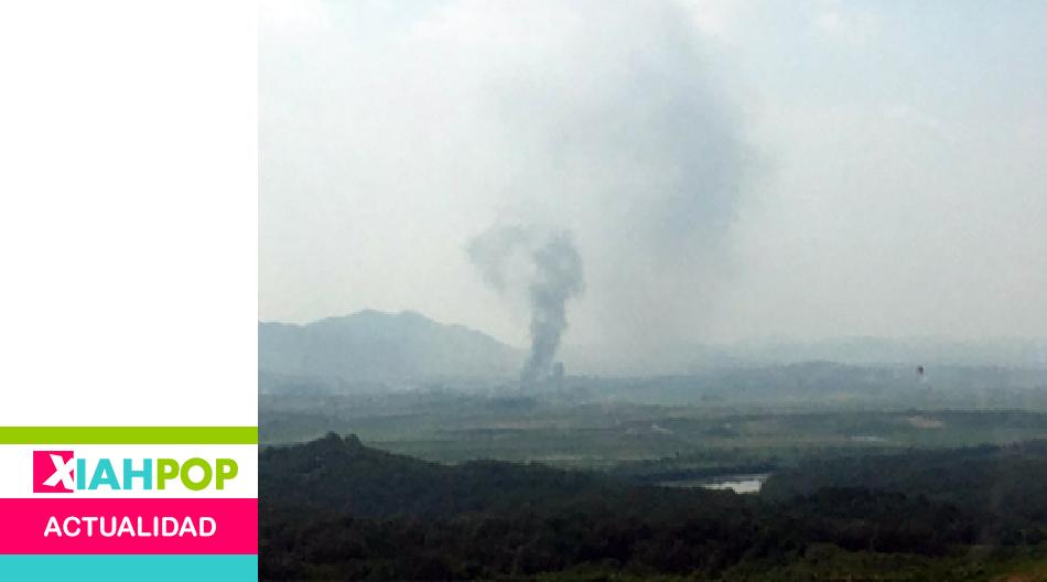 Corea del Norte destruye la Oficina Intercoreana de Kaesong
