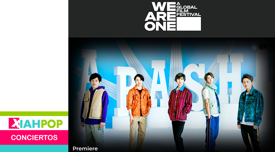 ARASHI lanzará el single «Party Starters» y se presentó en el We Are One: A Global Film Festival