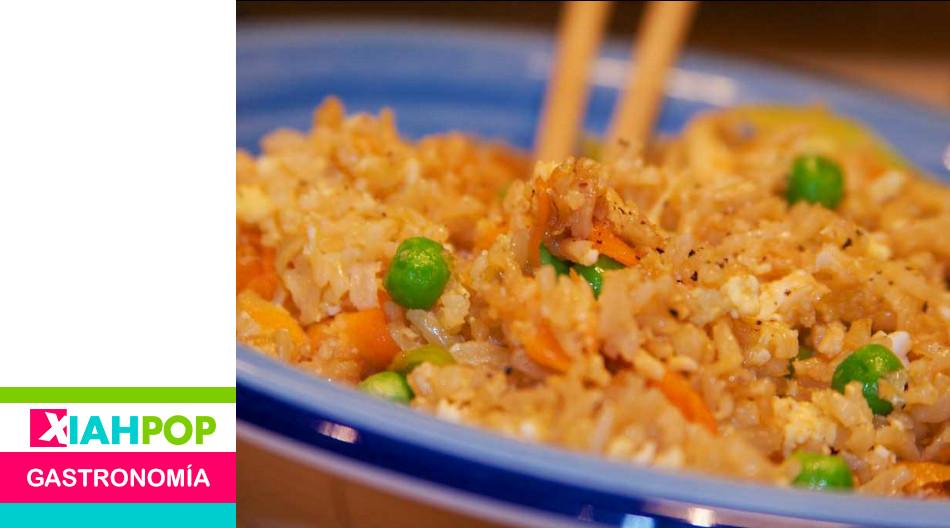 Arroz frito chino ¿Por qué se lava el arroz?