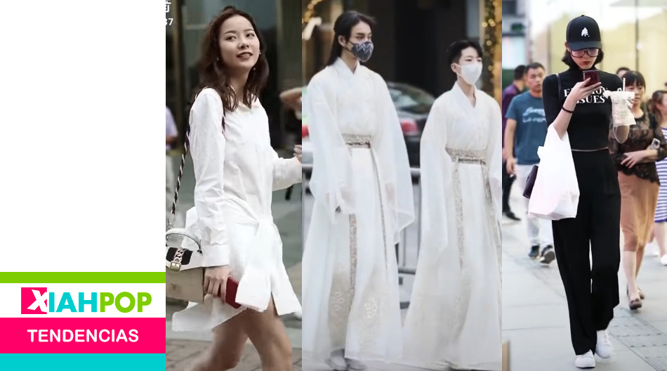 Street Fashion: los videos en TikTok que muestran  la moda en las China