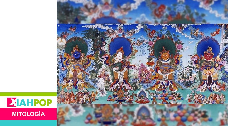 Mitología china: Los Cuatro Reyes Celestiales