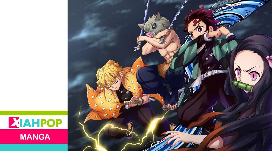 """Kimetsu no Yaiba"", el segundo manga más vendido de Oricon"