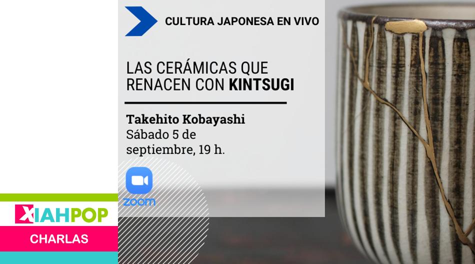 """Conferencia gratuita sobre """"Kintsugi""""  con el maestro Takehito Kobayashi"""