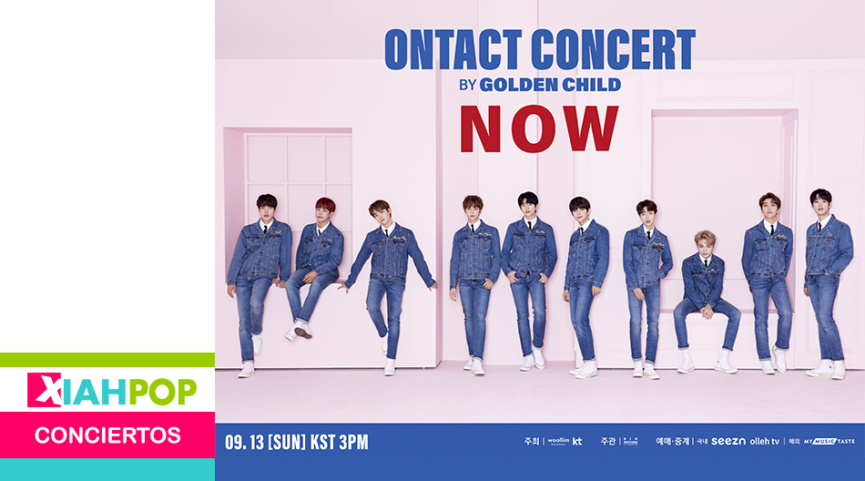El grupo GOLDEN CHILD anuncia «ONTACT CONCERT – NOW»