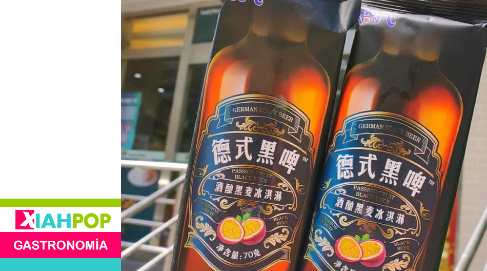 Helado de cerveza negra alemana se vuelve furor en China