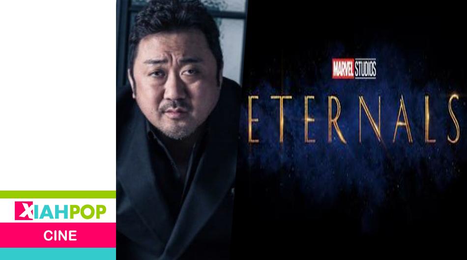 """¿Ma Dong Suk filtró sin querer el poster de """"The eternals""""?"""