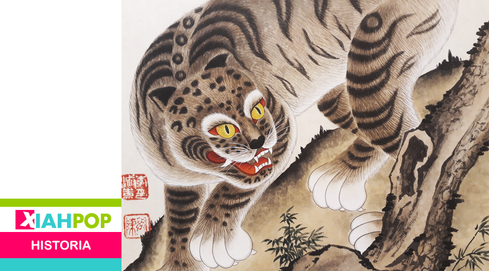 La peculiar historia de los tigres en la peninsula coreana