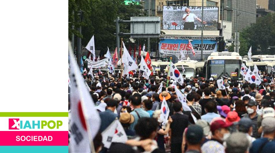 Grupos conservadores en Corea del Sur invitan a protestas masivas