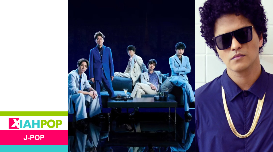 Arashi colabora con Bruno Mars para «Whenever You Call»