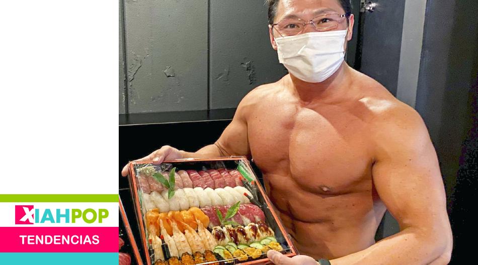 «Delivery Macho» ¡Pedí sushi y un fisicoculturista te lo entrega!