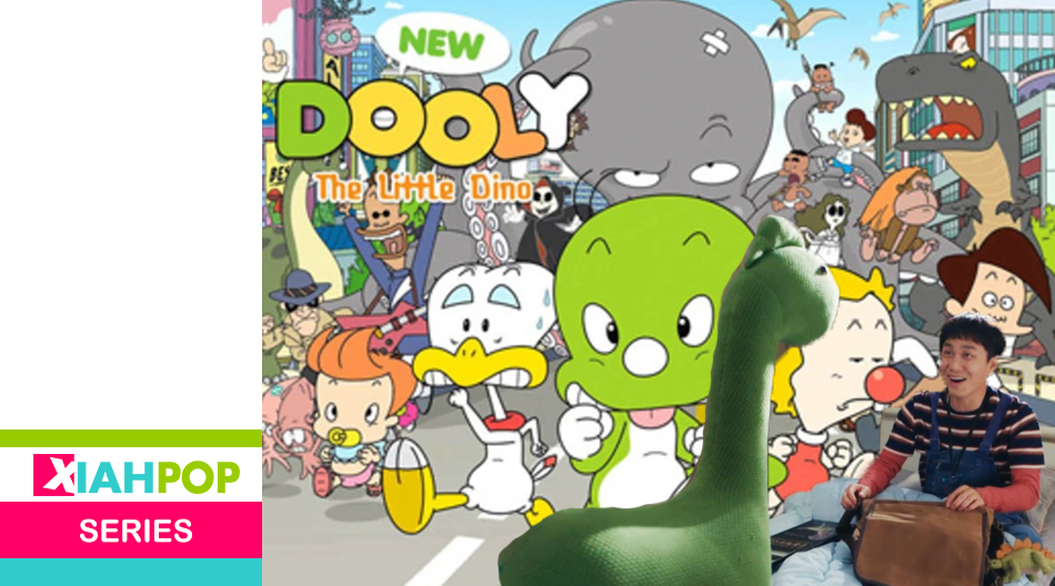 Dooly the Little Dinosaur, la animacion que regresó por 'It's Okay to Not Be Okay'