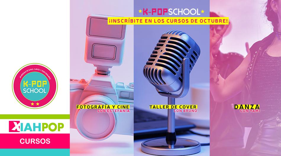 ¡Promo K-pop School! ¡3 cursos para el mes de octubre!