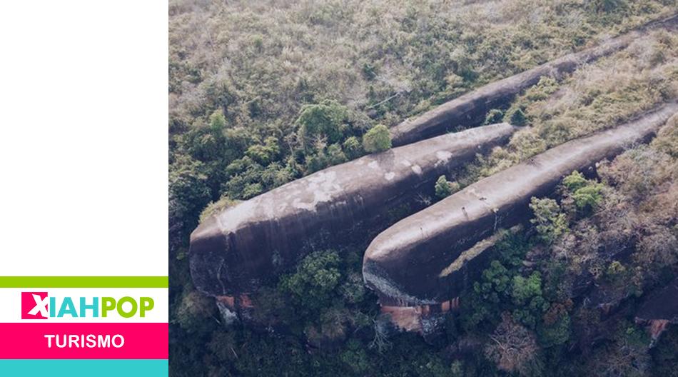 Hin Sam Warn, las rocas en forma de ballena de Tailandia