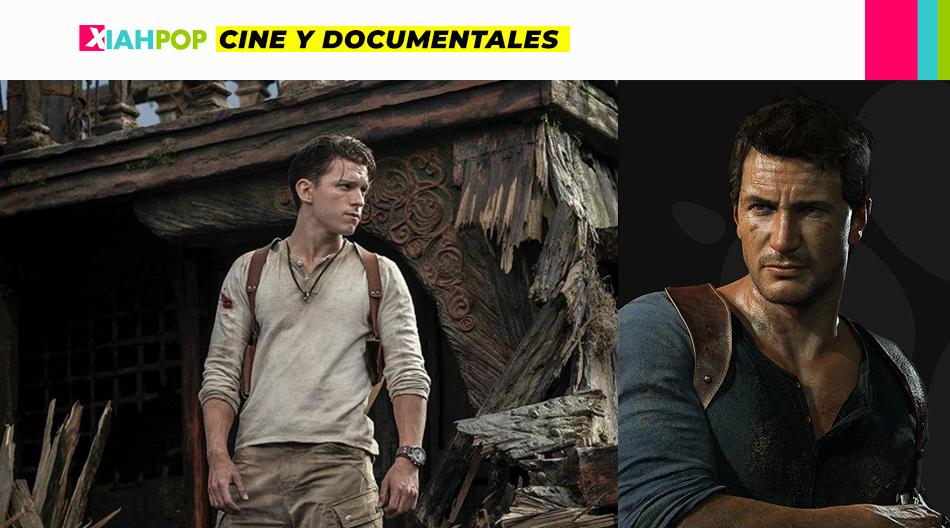 Imágenes de la adaptación cinematográfica de «Uncharted»