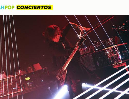 Cobertura del concierto de SUGIZO: RE-ECHO TO COSMIC DANCE