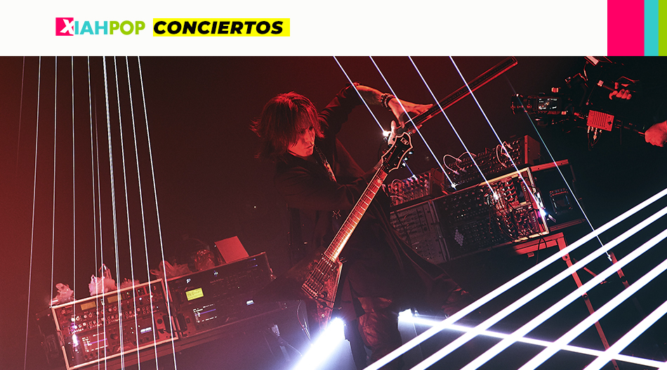 Cobertura del concierto de SUGIZO: RE-ECHO TO COSMIC DANCE