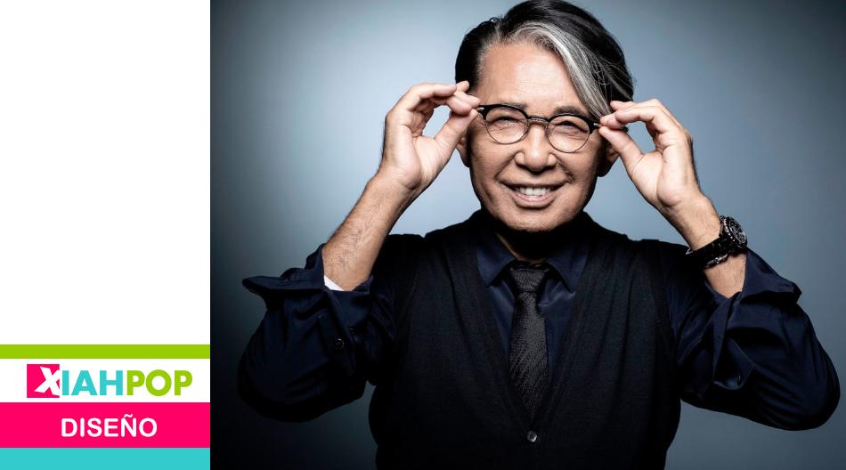 Falleció el diseñador japonés Kenzo de COVID-19