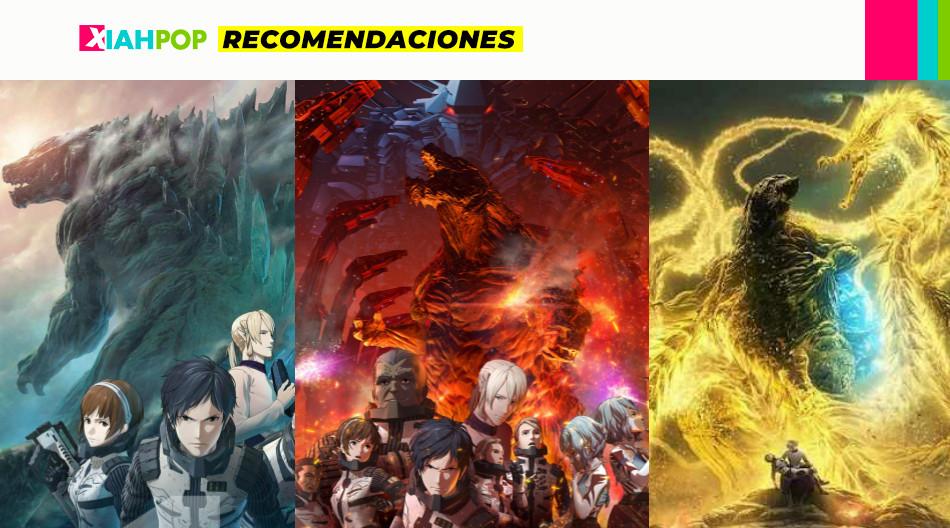 [Recomendación] Películas anime de Godzilla en Netflix