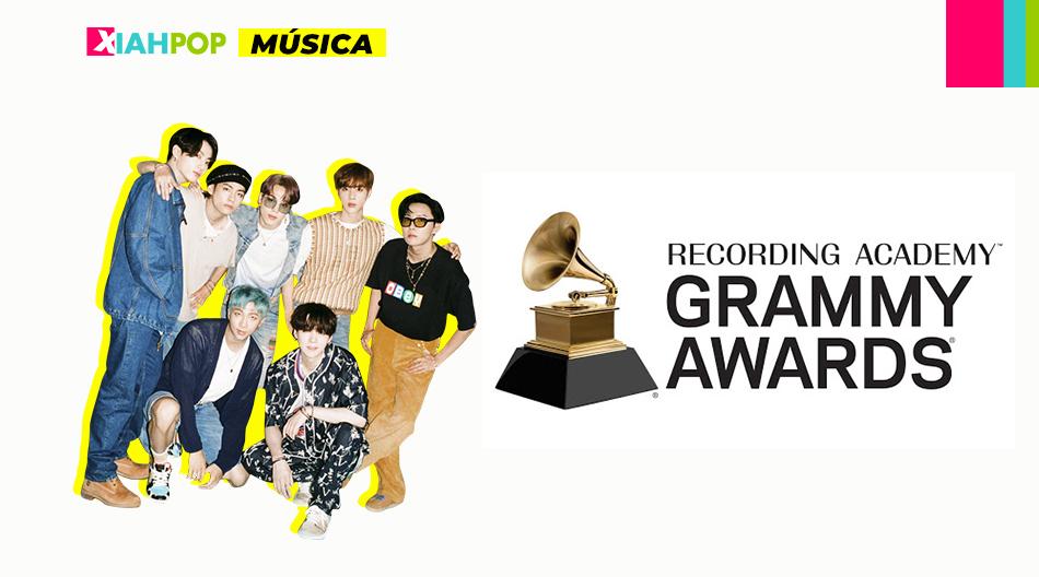 BTS es el primer artista coreano nominado a los Grammy