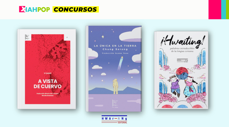 [Concurso VIVE ASIA] Llevate un set de libros y postales de Hwarang Ed.
