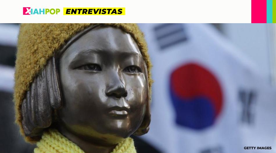 [Entrevista con Gabriela Cho] Mujeres de confort: la historia de las jóvenes esclavizadas por el Ejército Imperial Japonés