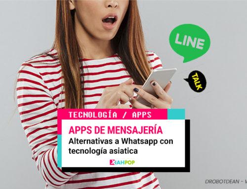 Apps asiáticas de mensajería instantánea para dejar WhatsApp