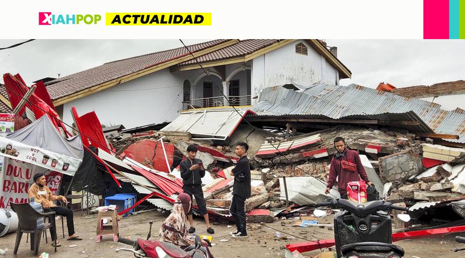 Fuerte terremoto en Indonesia: más de 40 muertos y 600 heridos