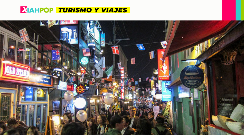 Itaewon, el distrito de Seúl elegido por los extranjeros