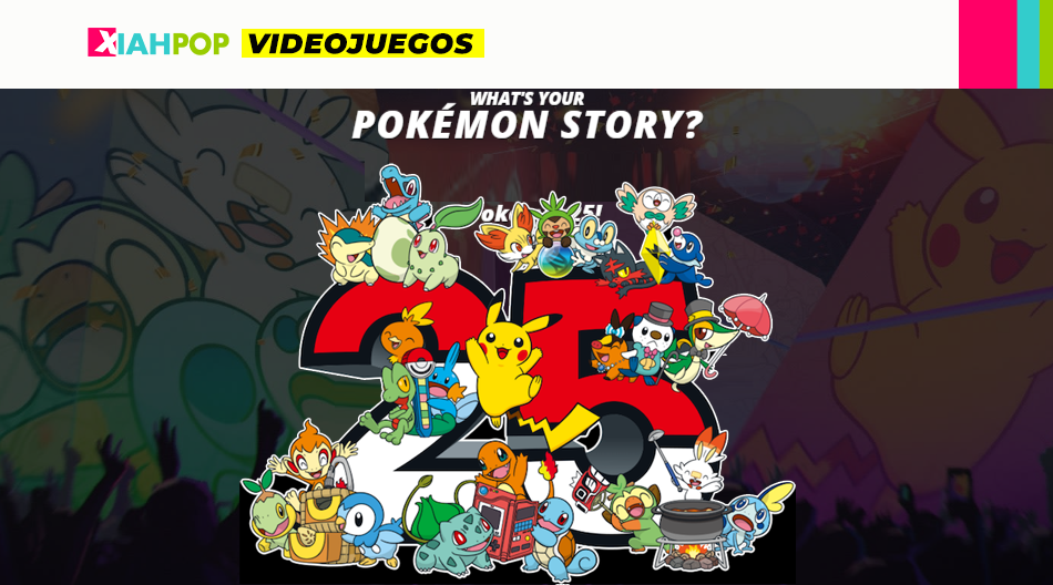Pokémon festeja los 25 años con un espectacular video