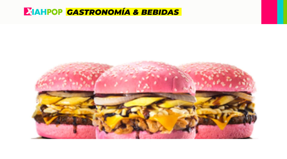 Sakura Collection, hamburguesas rosadas para celebrar la primavera