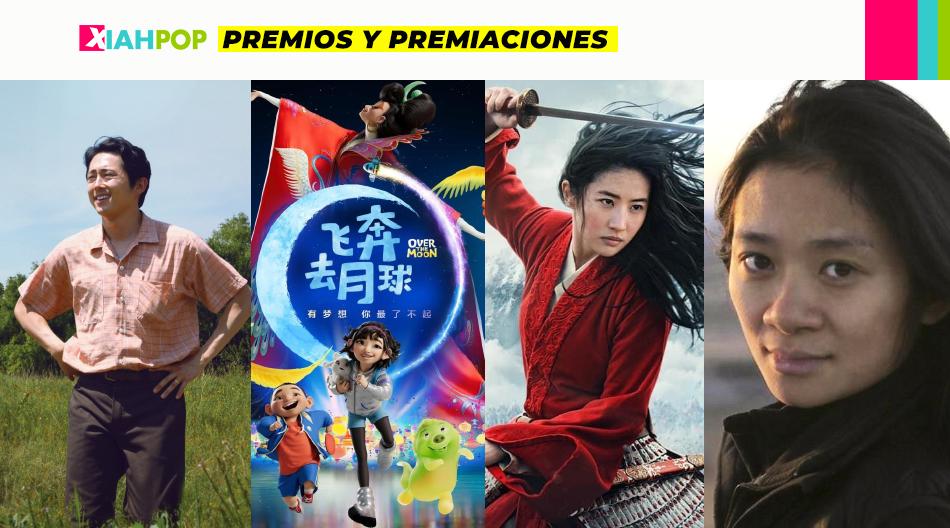 Masiva representación asiática en los premios Oscars 2021