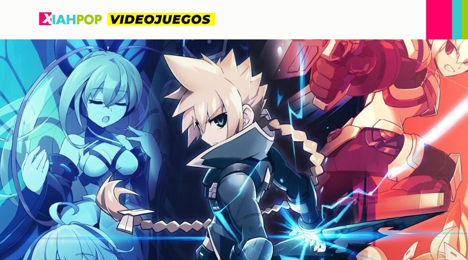 Azure striker Gunvolt: un juego y su relato vinculado al J-pop