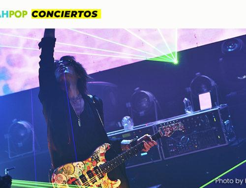 SUGIZO brindó un mensaje de paz en su concierto TOKYO EPISODE II ~VOICE OF LEMURIA~