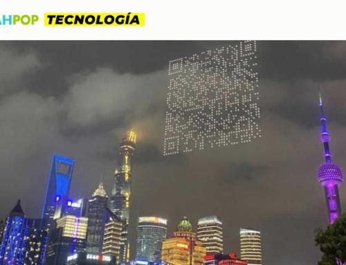 ¿Código QR en el cielo de China?