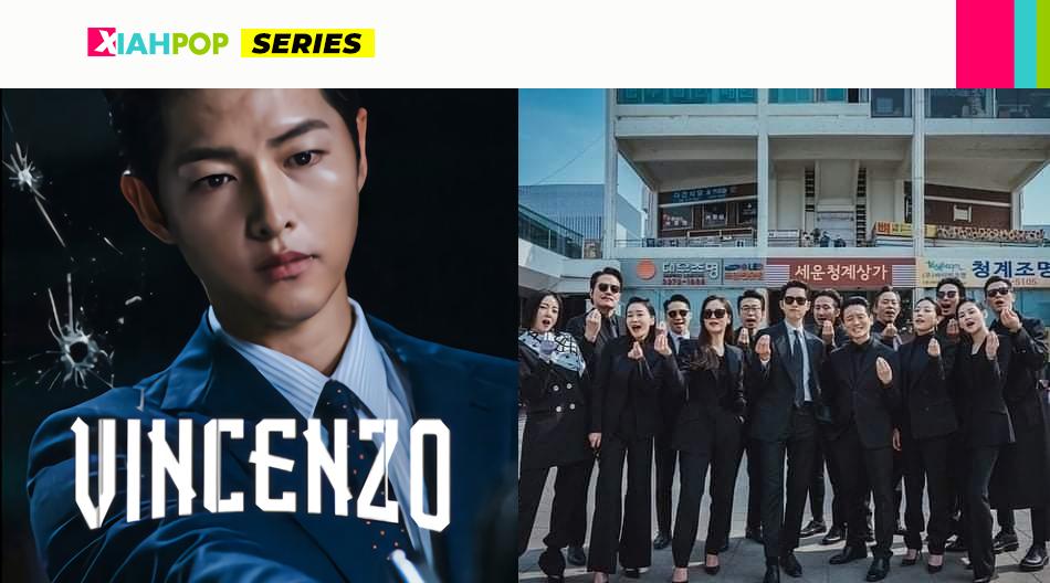 ¿Quiénes son los actores secundarios de Vincenzo?