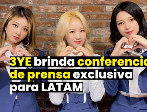¡3YE brinda conferencia de prensa previa a su concierto exclusivo para LATAM!