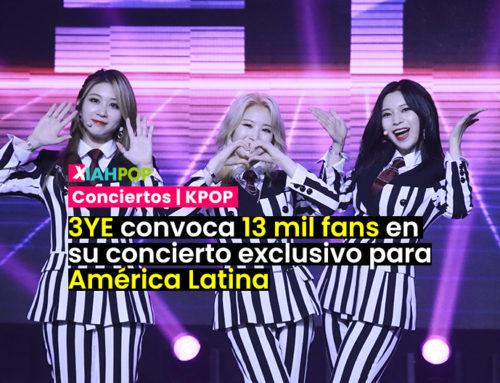 3YE conquista América Latina en el primer show de Kpop online para la región