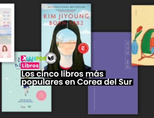 Los cinco libros más populares en Corea del Sur