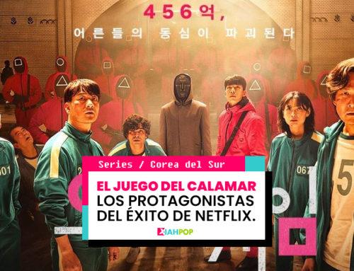 """Los protagonistas de """"El juego del Calamar"""" la serie coreana Nº1 de Netflix"""
