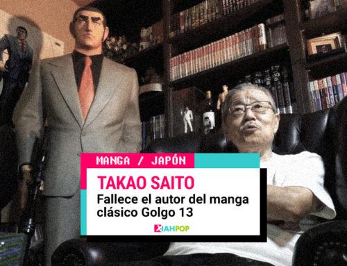 Fallece el mangaka Takao Saito creador de Golgo 13